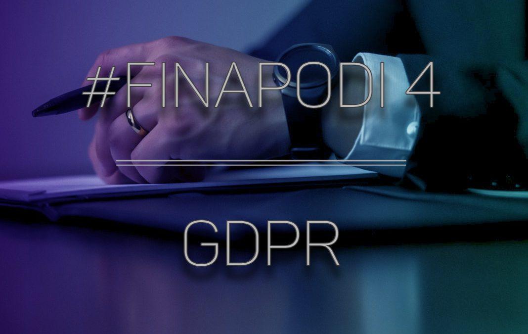 #Finapodi 4 – GDPR – Yrittäjän ystävä