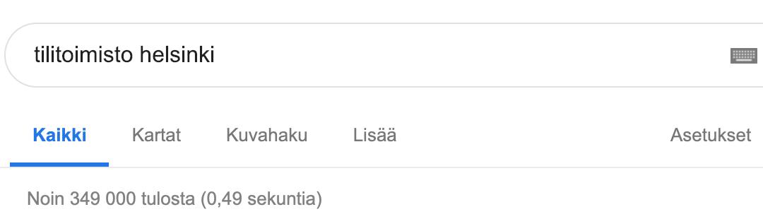 Tilitoimisto Helsinki – 349 000 tilitoimistoa – NÄIN VALITSET PARHAAN