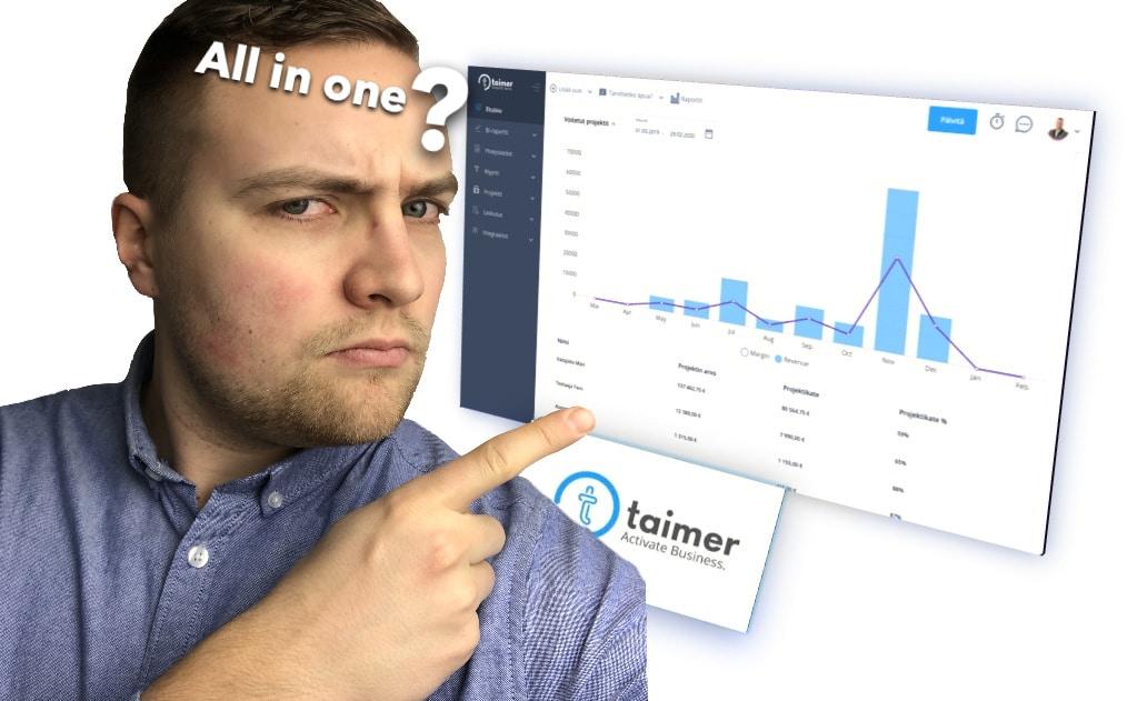 Taimer – Riittääkö yksi ohjelmisto oikeasti?