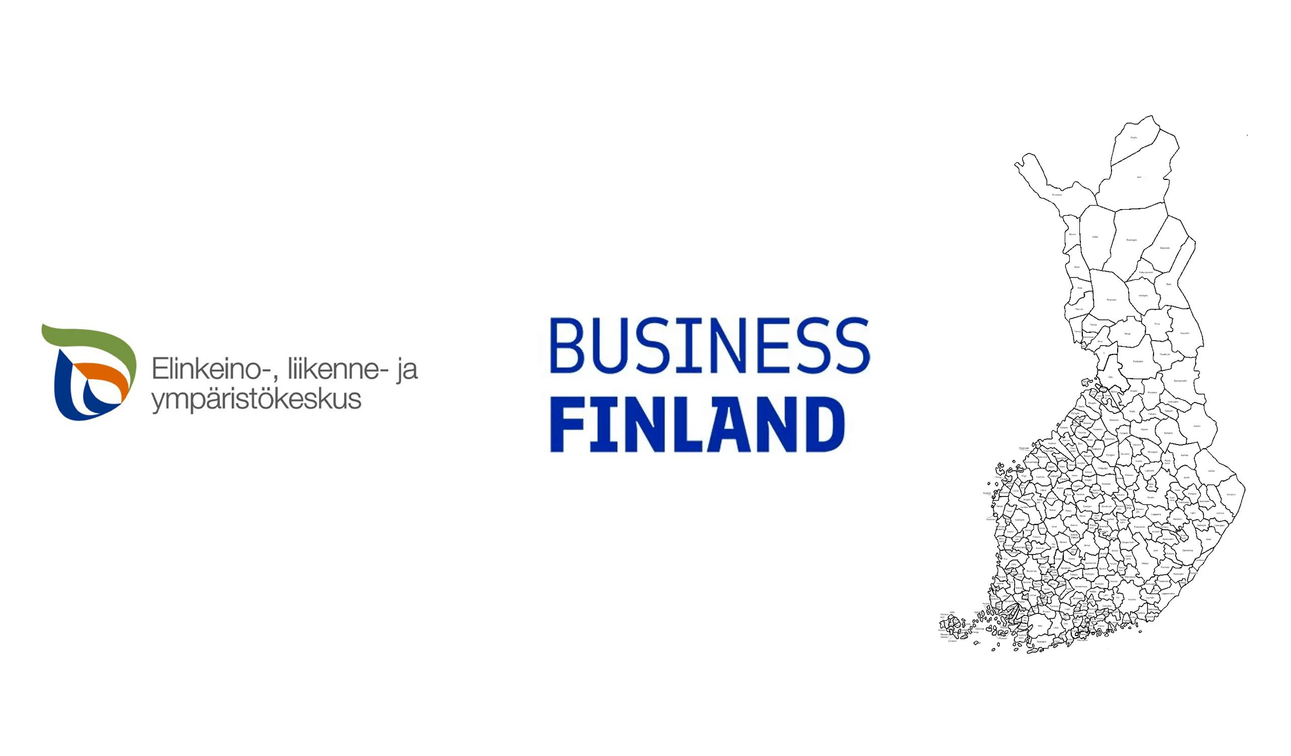 Ely-keskus tuet, Business Finland -tuet, kuntien korona-tuet